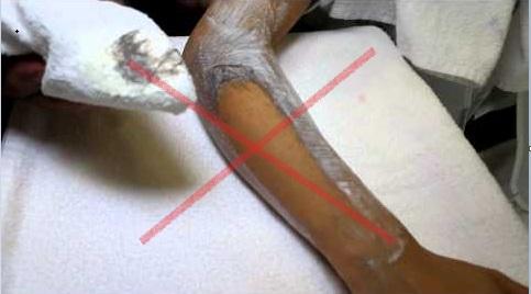 depilacion con crema depilatoria