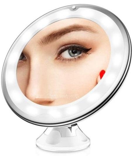 espejo para depilar