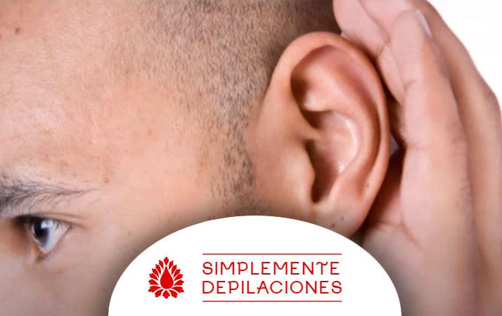 como depilar las orejas